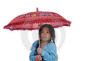 Unter Dem Regenschirm 4 Stockfoto - Bild: 1842130