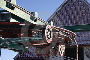 Ski Lift Wheel Stock Photography - Image: 1843102