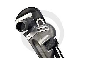 Pipe Wrench IV Stock Photos - Image: 1843933