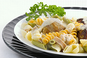 Swedish Meat Balls  Royalty Free Stock Images - Image: 1844799