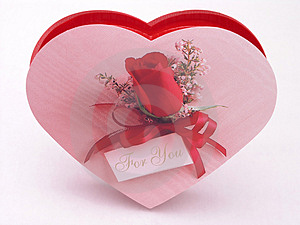 Valentines Candy Box - Rose 3 Stock Image - Image: 1845741