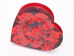 Valentines Candy Box - Roses 3 Stock Photography - Image: 1845972