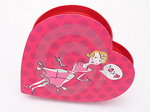 Valentines Candy Box - XOXO 3 Royalty Free Stock Images - Image: 1845999