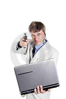 Hacker alive Royalty Free Stock Photography