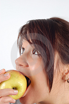 Eating Apple #4 Stock Images - Image: 1848444