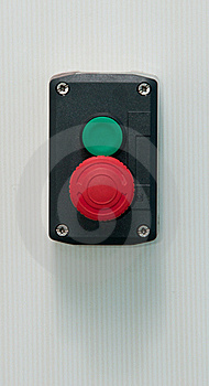 Emergency Button Royalty Free Stock Photos - Image: 18402168