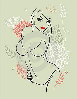 Elegance Woman Royalty Free Stock Photo - Image: 18404455