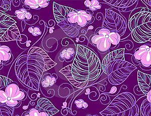 Seamless Floral Pattern Stock Photo - Image: 18404490