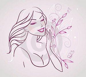 Elegance Woman Royalty Free Stock Image - Image: 18404566