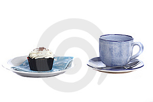 Tea And Cake Royalty Free Stock Photo - Image: 18404885