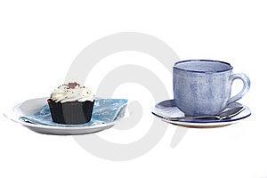 Tea And Cake Royalty Free Stock Photo - Image: 18404885