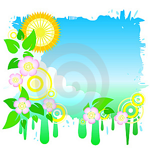Funky Spring Sky Royalty Free Stock Photo - Image: 18405865