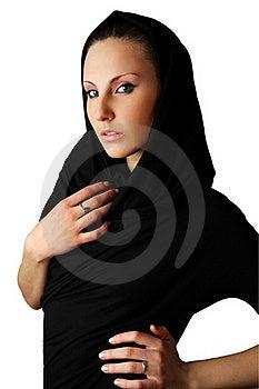 De Mooie Vrouw Van De Sensualiteit Stock Foto - Afbeelding: 18407580