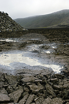 Galapagos Sulfur Volcano Stock Photos - Image: 18407653