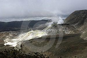 Galapagos Sulfur Volcano Stock Photography - Image: 18407722