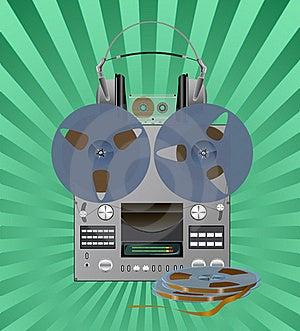 Recording Equipment. Stock Photography - Image: 18408162