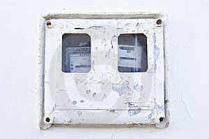 Electric Box Stock Image - Image: 18416521