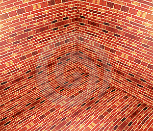 3D Brick Angle Royalty Free Stock Photo - Image: 18416595