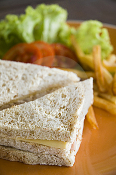 Sandwich Royalty-vrije Stock Foto - Afbeelding: 18420645