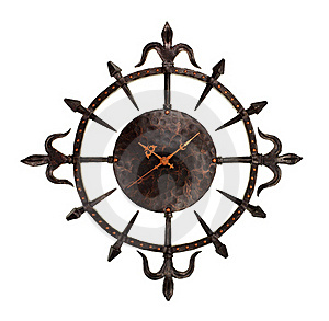 Wall Clock Royalty Free Stock Images - Image: 18421119