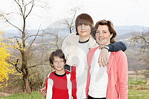 Happy Family Stock Images - Image: 18421434