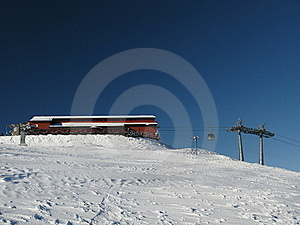 The Ski Area Royalty Free Stock Photo - Image: 18422735
