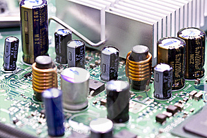 Computer Board Royalty Free Stock Photos - Image: 18423528