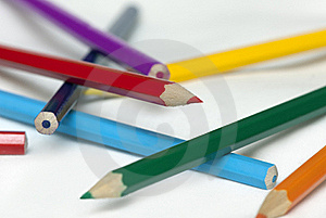 Color Pencils Royalty Free Stock Photo - Image: 18424585