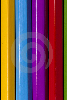 Color Pencils Close Up Stock Photo - Image: 18424600