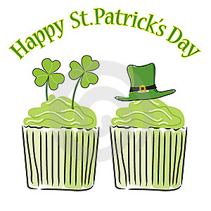 Cupcake_st Patricks Day Royalty Free Stock Photography - Image: 18426617