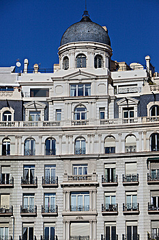 Barcelona Traditional Architecture (Spain) Stock Images - Image: 18427524