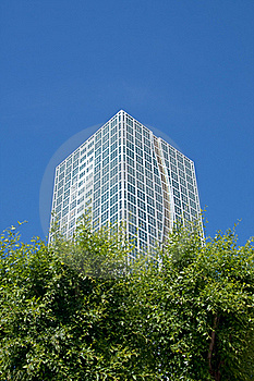 Modern Building Stand In The Forest Royalty Free Stock Image - Image: 18427796