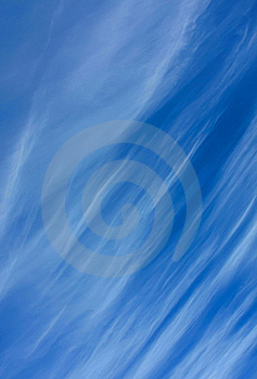 Wispy Clouds Stock Image - Image: 18430131