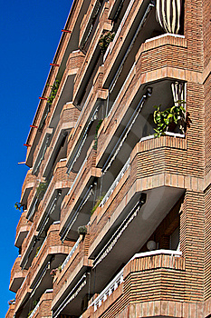 Barcelona Traditional Architecture (Spain) - 13 Royalty Free Stock Image - Image: 18430856
