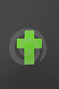 Green Cross Royalty Free Stock Images - Image: 18432239