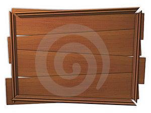 Broken Framed Wooden Panel Stock Photo - Image: 18435490