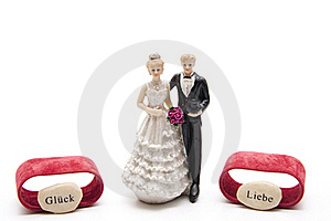 Bridal Couple With Luck Stock Image - Image: 18435901
