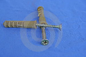 Screw And Anchors Stock Images - Image: 18437504