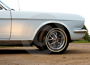 American Classic - Closeup Front Stock Photography - Image: 18437932