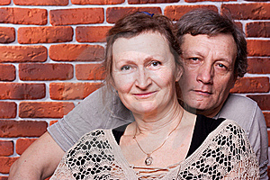 Happy Seniors Couple In Love Royalty Free Stock Image - Image: 18439116