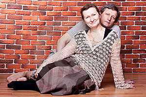 Happy Seniors Couple In Love Royalty Free Stock Photography - Image: 18439167