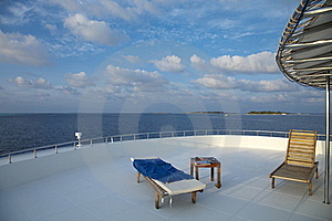 Deck Chair On Cruising Ship Royalty Free Stock Photo - Image: 18439515