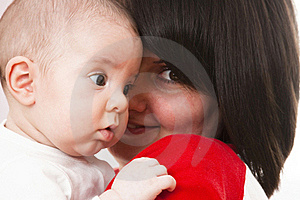 Happy Mother With Baby Stock Photos - Image: 18441013