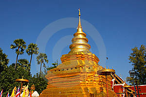The Pagoda Of Chiangmai, Thailand Royalty Free Stock Photography - Image: 18441977