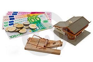 Money Trap Royalty Free Stock Image - Image: 18442416