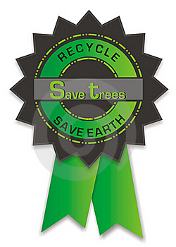 Recycle Badge Stock Images - Image: 18444284