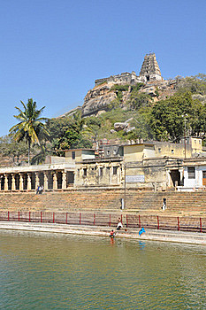 Lord Narasimha Swamy Temple Stock Photo - Image: 18444460