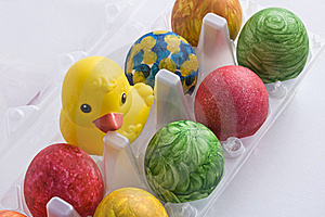 Easter Eggs Royalty Free Stock Image - Image: 18444696