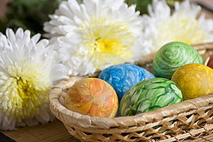 Easter Eggs Royalty Free Stock Image - Image: 18444786