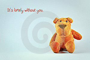 It's Lonely Without You Stock Image - Image: 18450511
